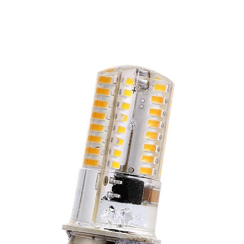 High Quality 1Pc White/Warm White 110/120V BA15D LED Corn Bulbs 2.6W 3014 64SMD Lights for Sewing Machine Energy Saving
