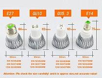 Super Bright GU10 Bulbs Light Dimmable Led Warm/White 85-265V 7W 10W 15W LED GU10 COB LED lamp light GU 10 led Spotlight