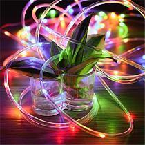 Solar Lamp LED Outdoor String Lights 12m LED Fairy Lights for Halloween Christmas Decoration Garden Decor Waterproof Solar Light