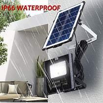 Solar Lamp Floodlight Led Portable Spotlight floodlight 45W Outdoor Street Garden Light Waterproof Wall Lamp with Remote Control