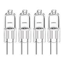 40pcs Mini G4 Energy Saving Tungsten Halogen JC Type Light Bulb Lamp 12V 20W G4 Spotlight For Crystal Chandelier Halogen Lamp