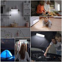 Wireless PIR Motion Sensor Closet Light Night light LED Under Cabinet Light 10 LEDs lighting for Closet Kitchen room wall light