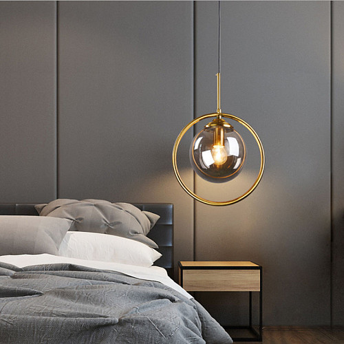 Modern Pendant Lights Simple Glass LED Pendant Ceiling Lamps Lighting Living Room Nordic Hanging Lamps Home Decor Light Fixtures