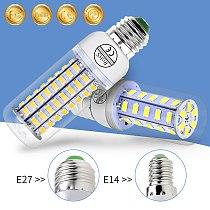 220V bombillas Led E27 Lamp Corn Bulb E14 Candle Light Bulb Led GU10 Lampada 5730 Energy saving Lighting 24 36 48 56 69 72leds