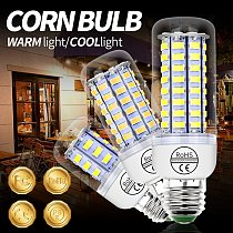 10PCS Led Lamp Corn Bulb E27 220V E14 Bombillas led Lamparas SMD5730 Verlichting 5W 7W 12W 15W 18W 20W Luz Led Lights for home