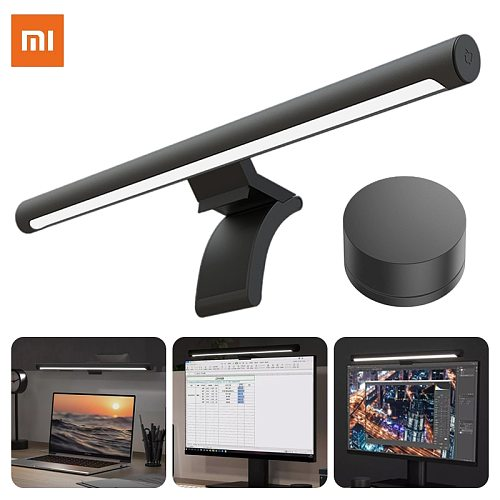 Xiaomi Mijia Desk Lamps Computer Screen Hanging Light Wireless Remote Control Adjusts Brightness Eye Protection Study Work Lamp