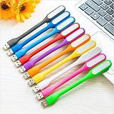 Mini USB LED Light 5V 1.2W Power Bank Reading Light Notebook Portable LED Lamp USB Night Lights Book Light (Random Color)
