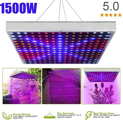 1500W LED Growth Lamp For Plants Led Grow Light Full Spectrum Phyto Lamp Fitolampy Indoor Herbs Light For Greenhouse Led Grow
