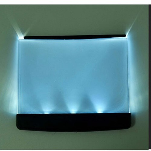 Creative Fashion LED Night Light Tablet Reading Book Lamp Novelty Wireless Eye Protection 3*AAA Battery Light Mini Headboard