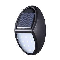 LED Solar Light Solar Lamp With 10 LED Waterproof Motion Sensor Outdoor Light for Patio Yard Solar charging Wall Fence Light#25