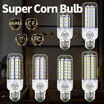 Led E27 Corn Bulb 220V Ampoule GU10 Lampada LED Corn Lamp E14 Candle Light Bulbs 5730 SMD 24 36 48 56 69 72leds Bombillas 3W