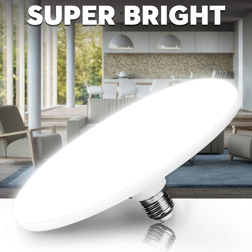 E27 Led Bulb Lampada Led Lamp Light 60W 50W 40W 20W 15W Lighting Bombillas 220V Spotlight UFO For Home Table Lamp Living Room