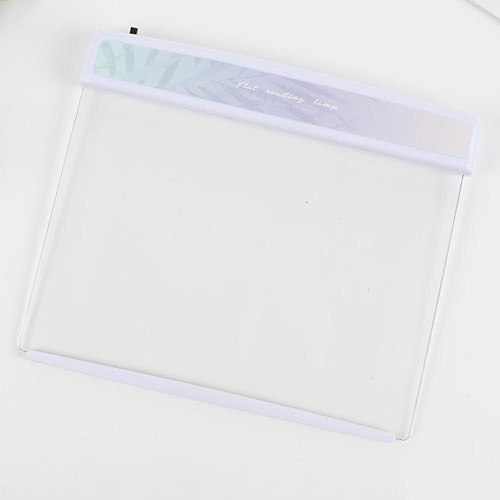 Flat Plate LED Book Light Reading Night Light Portable Travel Dormitory Led Desk Lamp Eye Protect for Home Bedroom