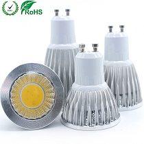 GU10 led Bulb Light Dimmable lampada Decoration Ampoule Warm/White 220V 9W 12W 15W cob lampada led GU10 led lamp