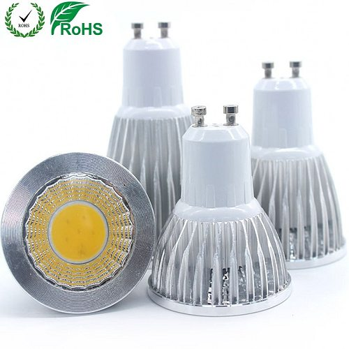 GU10 led Bulb Light Dimmable lampada Decoration Ampoule Warm/White 220V 9W 12W 15W cob lampada led GU10 led lamp