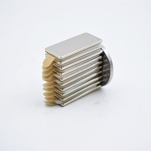 10pcs N52 Neodymium magnet with 3M glue small block super strong Permanent magnetic adhesive tape Bar Cuboid circle