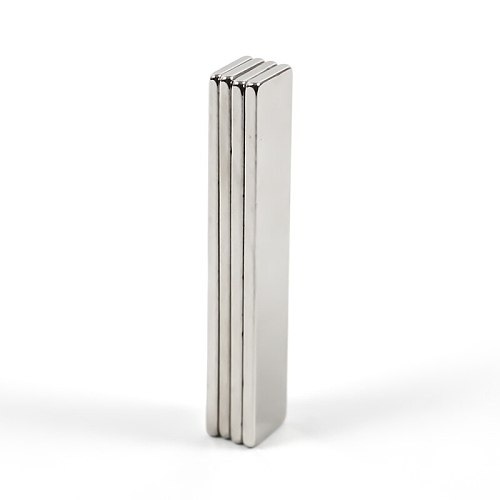 U-JOVAN 4pcs/lot 50 x 10 x 2 mm N35 Super Strong Block Cuboid Neodymium Magnets 50*10*2mm Rare Earth Powerful Magnet
