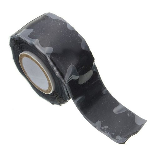 Repair Tape Self Fusing Wire Hose Bonding Rescue Performance Transparent Silicone Black Pipeline Seal Water Pipe Strong Repair