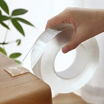 1M/3M/5M Nano Tape Double Sided Tape Transparent NoTrace Reusable Waterproof Adhesive Tape Cleanable Home gekkotape