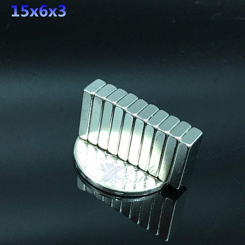 10pcs  Super Strong magnet  Block NdFeB Cuboid Rare Earth Neodymium Magnet rectangle