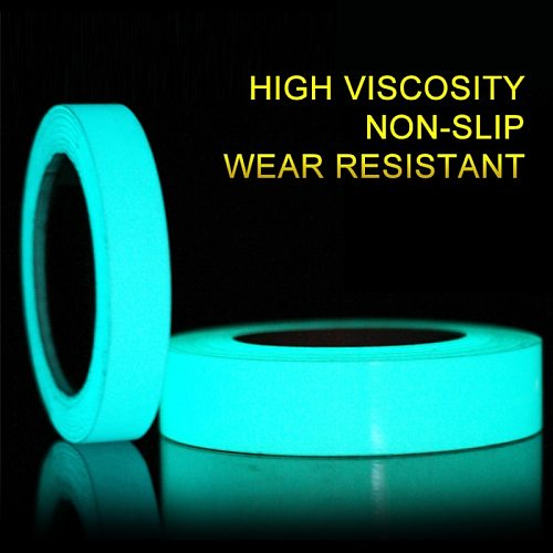 Reflective Tape Camping Equipment Hiking Accessories Outdoor Safety Car Stickers Light Luminous Warning Glow Fluorescent Tapes