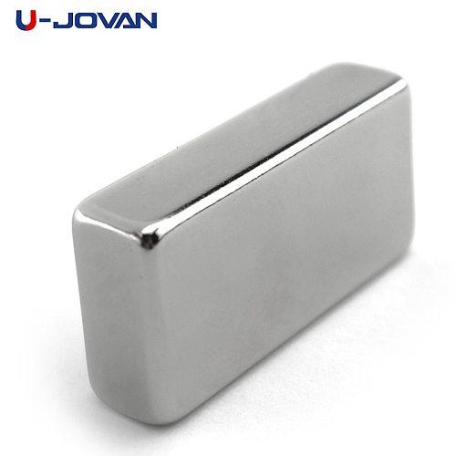 U-JOVAN 1pc Super Strong 40 x 20 x 10 mm Block Neodymium Magnet Rare Earth N35
