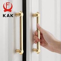 KAK Zinc Alloy Pearl Gold Cabinet Knobs Kitchen Door Handles Drawer Cupboard Door Handle Cabinet Handles for Furniture Hardware