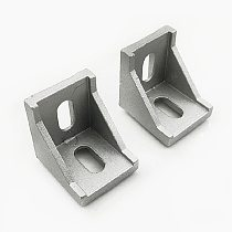 2020 3030 4040 Corner Fitting Angle Aluminum Connector Bracket Fastener Furniture Hardware