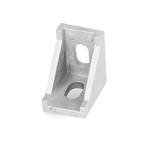 10pcs/25pcs Aluminum 2020 Corner Bracket Fittings 20x20x17mm Corner Angle Bracket for Connector Aluminium Profile CNC Router
