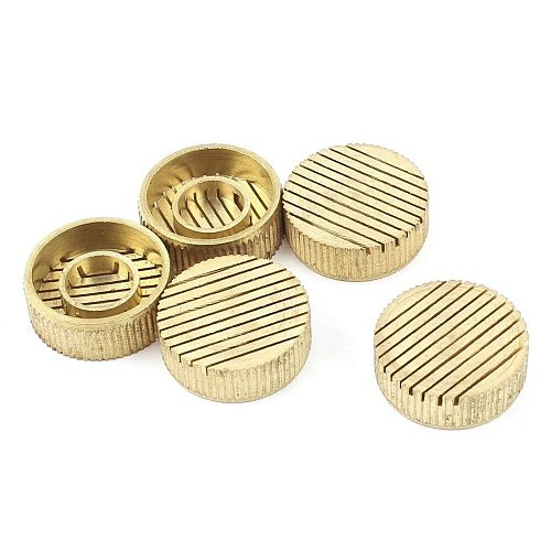 5Pcs Brass Parallel Slotted Core Box Air Release Vents 3/4/5/6/8/10/14/16/18/20/22/25/30mm