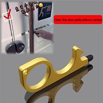 Portable Bottle Opener Touch Screen Key Anti Contact Door Opener Anti Touch Key Press Elevator Tool Hygiene Hand Antimicrobial