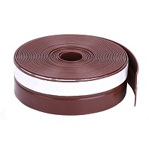 1 Pcs Self Adhesive Seal Strip 1M Silicone Door Window Draught Dustproof Weatherstrip LO88