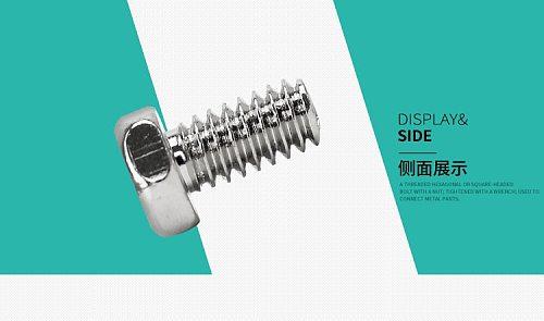 2019 2020 stainless steel screw head (M2.6)