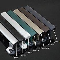 Salad hands sliding door aluminum alloy plastic door with the shake handshandle pull handle