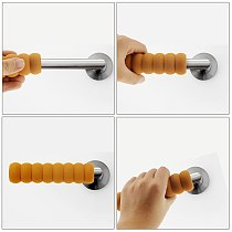 Baby Screw Door Handle Anti-Collision Protective Cover Room Door Handle Pad To Protect Infants And Children Safety Products