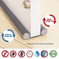 93cm Under Door Draft Guard Stopper Soundproof Reduce Noise Door Bottom Sealing Weather Strip Under Door Draft Guard