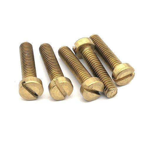 Brass Slotted cheese head screw DIN84 Brass screw Brass bolt GB65