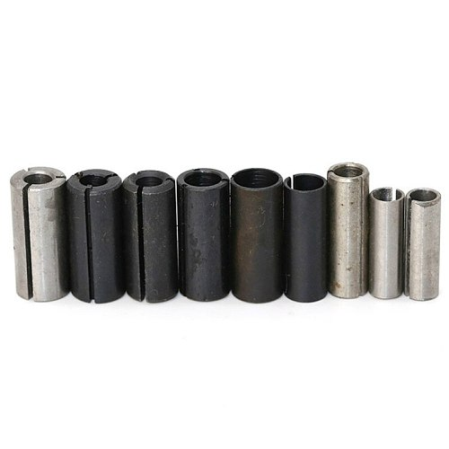 1Pc High Precision Adapter Collet Shank CNC Router Tool Adapters Holder Universal Engraving Sleeve Connected Collet Adapter