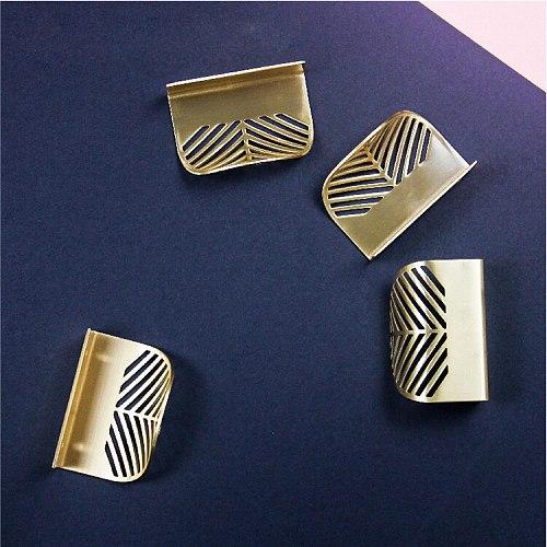 Satin Cabinet Pulls Modern Furniture Cabinet Metal Brass Drawer Leaf Handle Bedroom Drawer Dresser Wardrobe Shoe Cabinet Knob