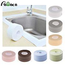 3.2m Bathroom Shower Sink Bath Sealing Strip Tape Caulk Strip Self Adhesive Waterproof Wall Sticker for Bathroom Kitchen
