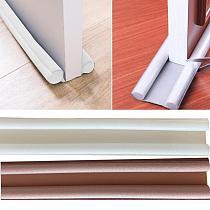 Stopper dust Flexible door noise bottom draft reduction sound Weatherstrip window sealing Blocker 93CM strip proof Sealer under