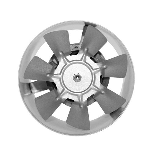 4Inch Air Ventilator Metal Pipe Air Ventilation Exhaust Fan Mini Extractor Bathroom Toilet Wall Fan