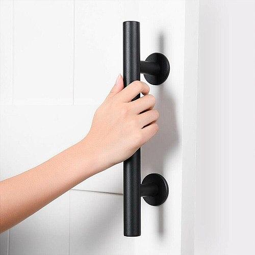 Sliding Barn Door Handle Pull Flush Recessed Wood Door Handle Furniture Hardware For Cabinet Cupboard Interior Door 35-45MM