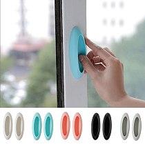 Door Handle 2pcs/lot Paste Open Sliding Door Handles for Interior Doors Window Cabinet Drawer Wardrobe Self-adhesive Handle