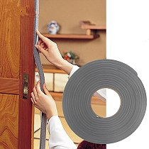5M Adhesive Foam Weather Draught Excluder Seal Door Window gap insulation rubber tape Hardware width 15MM / 30MM