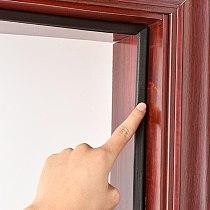 5M Self Adhesive Soundproof Foam Door Strip Acoustic Foam V Type Sealing Strip Weather Stripping Door Window Seal Strip