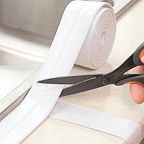 For Bathroom Kitchen 3.2m Shower Sink Bath Sealing Strip Tape Caulk Strip Self Adhesive Waterproof Wall Sticker  Sink Edge Tape