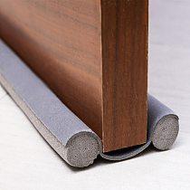 93CM Flexible Door Bottom Sealing Strip Guard Sealer Stopper Door Weatherstrip Guard Wind Dust Blocker Sealer Stopper Door Seal