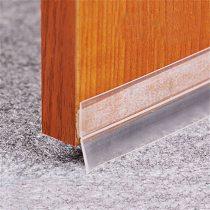 Silicone strip glass door and window seal sound insulation strip self-adhesive windproof wooden door seam door bottom windshield