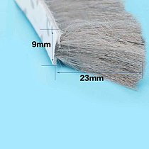 self adhesive Seal Strip window pile brush seal strip weatherstrip draught excluder Door Brush Swal Weather Strip